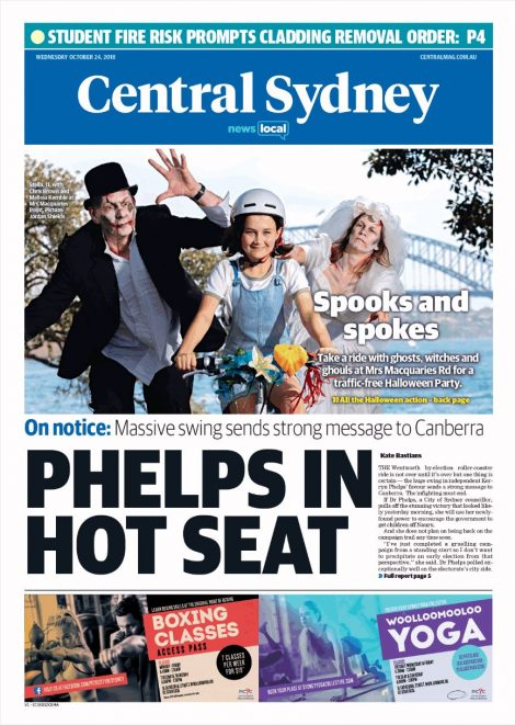 Central Sydney Courier Cover
