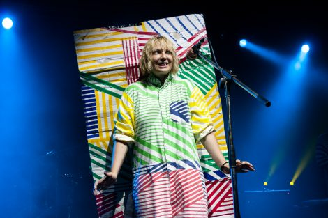 Sia performs at the 2011 Big Day Out in Perth, Western Australia. Taken for The WiRE Mag.